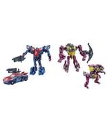 Transformers Beast Hunters Predacons Rising Cindersaur & Smokescreen Fig... - $14.94