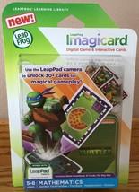 LeapFrog TEENAGE MUTANT NINJA TURTLES Imagicard Learning Game LeapPads &... - $17.94