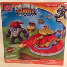 Mega Bloks Skylanders Giants Turret Air Raid w/ Terrafin NEW & Sealed - $9.94