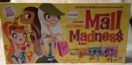 Milton Bradley Electronic Mall Madness 2004 Shopping Game Complete - $25.94