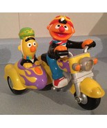 SESAME STREET REVEN' SOUNDS BERT & ERNIE MOTORCYCLE 2000 TOY Sounds & Li... - $12.94