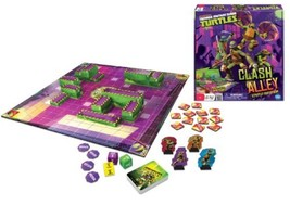 TMNT Teenage Mutant Ninja Turtles Clash Alley Strategy Board Game **New/... - $17.94