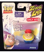 TOY STORY ZING 'EMS *JESSIE *  - ZINGING Party Favor! NEW IN PKG - $4.94