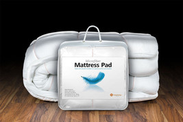 King Mattress Pad Hypoallergenic Protector Topper Overstuffed 24oz - $72.51