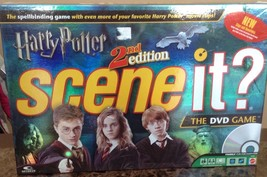 Scene it? Harry Potter 2nd edition 2007 DVD Game - Movie Clips First 4 Movies - $24.94