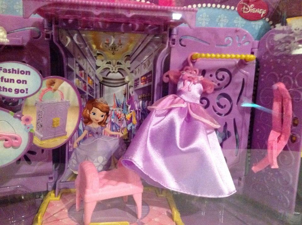 DISNEY SOFIA THE FIRST PORTABLE PRINCESS CLOSET NEW - Great Gift Item