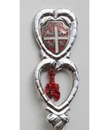 Collector Souvenir Spoon Canada Newfoundland Grand Falls Coat of Arms Lo... - $6.99