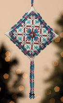 CLEARANCE Royal Capri Tiny Treasures Diamond Ornament Kit 2013 Mill Hill - $4.50