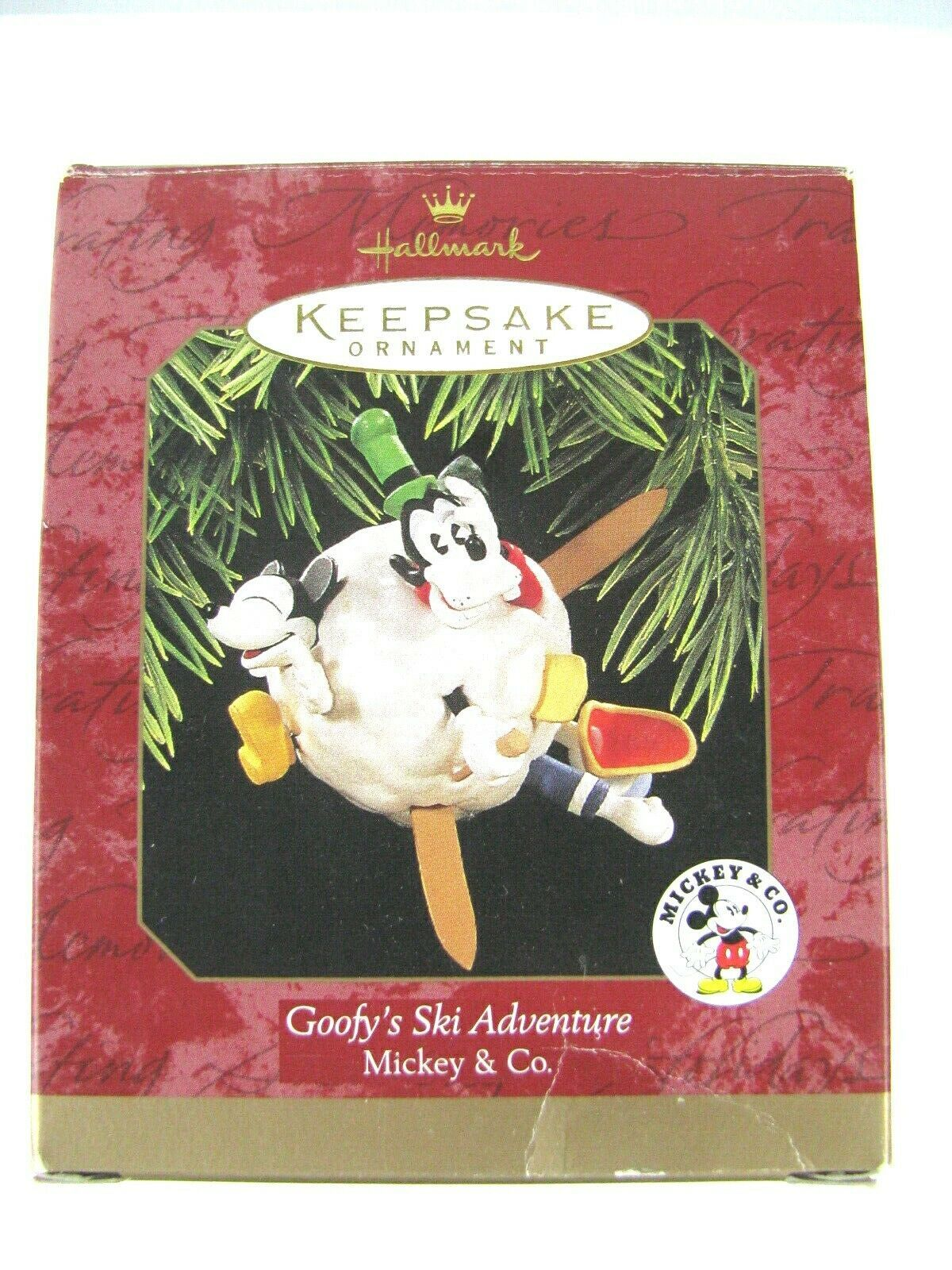 Hallmark Keepsake Christmas Tree Ornament Goofy's Ski Adventure