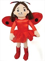 MerryMakers Ladybug Girl Plush Doll, 10-Inch [Toy] Soman, David; Davis, ... - $15.99