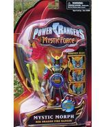 Power Rangers Mystic Force Morph RED Dragon Ranger NEW Action Figure - $29.99