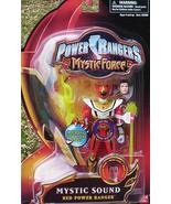 Power Rangers Mystic Force Red SOUND Ranger Action Figure NeW +2 Weapon ... - $29.99
