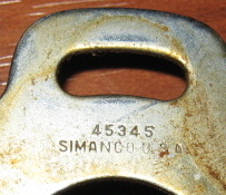 Singer Slant-O-Matic Slack Thread Regulator Tension Thread Guide Simanco #45345
