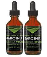 2 Absonutrix Garcinia drops- 98% HCA 2 Oz helps suppress appetite lose w... - $38.99