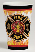 Fire Watch Party Cups - Birthday Party Supplies - $6.24