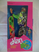 Ski Fun Ken - Mattel# 7512 , 1991 - Brand New in Box - $34.99