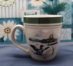Vintage Stoney Hill Lodge Great Outdoors 12 oz. Mallard Duck Coffee Cup //  - $8.00