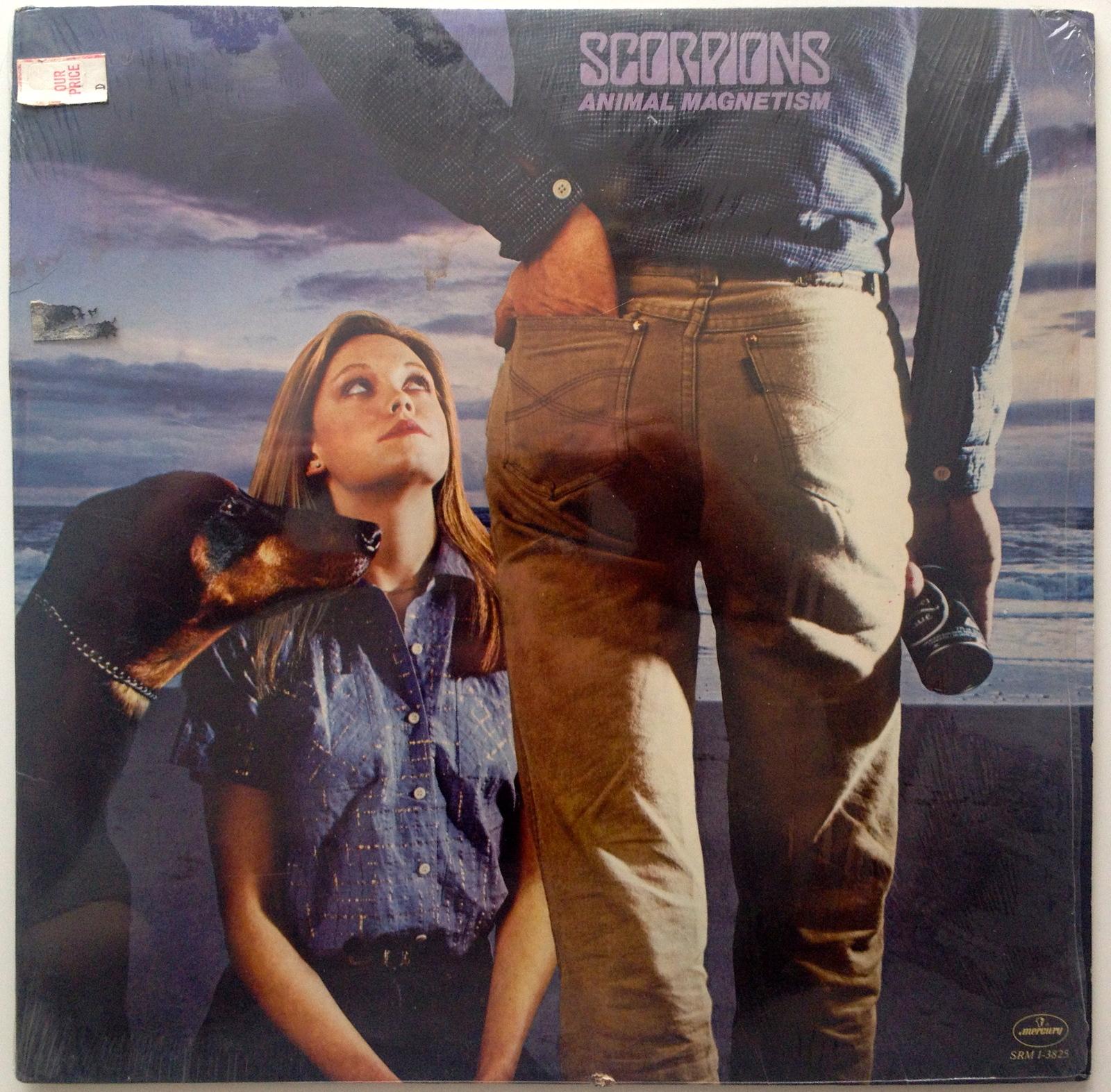 Scorpions - Animal Magnetism LP Vinyl Record Album, Hard Rock, 1980