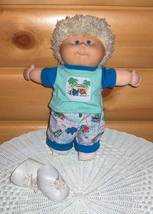 Cabbage Patch Kid Preschool Toddler '91 Hasbro Animals White Crimp Shag Boy - $26.99