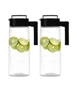 Takeya 2Pk Pitcher Drink Maker Plus Fruit / Tea Infuser Pitcher Kitchen ... - $37.42+