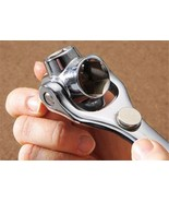 Dogbone Wrench With  Swivel & Magnetic Head Rated 8 # - $17.33+