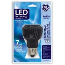 Light Bulb GE Par20 7 Watt LED 13+ Year Life Lamps & Lighting Jewelry Paintings - $29.80