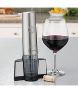 Waring Professional Cordless Wine Opener Kitchen Bar Tools Dining Party ... - $39.99