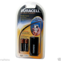 Duracell Pocket Charger 2 Pk iPod Blackberry Portable Power Charger Trav... - $13.19