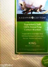 Blanket 100% Kashmir  Extra Fine Cotton \ Made In India Bedroom Bedding ... - $74.35+