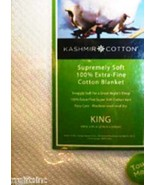 Blanket 100% Kashmir  Extra Fine Cotton \ Made In India Bedroom Bedding ... - $59.39+