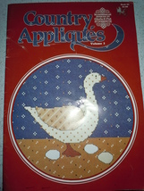 Designs by Gloria & Pat Country Appliqués Vol. 1 Counted Cross Stitch Pa... - $4.99
