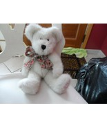 "Boyds bear Felicity N. Hugs10"" off white jointed bear ""#1 Mom on paw"" ... - $10.00"