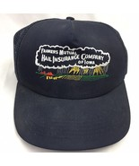 Farmers Mutual Hail Insurance Company of Iowa Snapback Trucker Hat Baseb... - $16.79