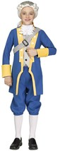 Fun World George Washington President USA Childrens Halloween Costume 11... - $28.79