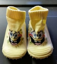 Skidders Sponge Bob in yellow Sz 4 12 Months - $2.42