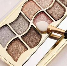 Professional Eye Makeup 12 Colors Eyeshadow Palette Gold Smoky Cosmetics... - $4.76