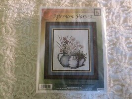 """Cross My Heart AFTERNOON HARVEST Counted CROSS STITCH  Sealed KIT--11.4""""... - $12.82"""