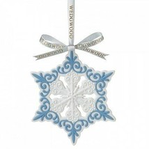 Wedgwood Pierced Snowflake Christmas Ornament NEW IN THE BOX (S) - $44.54