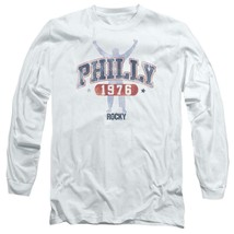 Philly Rocky 1976 Philadelphia Boxing Movie retro long sleeve graphic tee MGM151 image 1