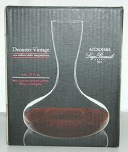 Luigi Bormioli 0769305 Accademia Crystal Decanter Vintage Color Clear image 3