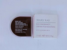 Mary Kay Day Radiance Cream Foundation Rich Bronze 6311 SPF 8 New Old Stock - $24.99