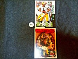 Brett Farve # 4 Green Bay Packers QB Football Trading Cards AA-19 FTC3002 Vintag image 7