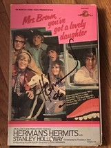 "VHS Mrs Brown You've Got a Lovely Daughter autographed ""Herman's"" by Pet... - $249.99"