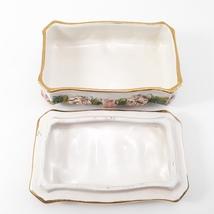 Vintage CAPODIMONTE Cherub Porcelain Trinket Dresser Box image 2