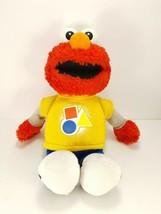"Hasbro 14"" Sesame Street Rockin Shapes Colors Talking Singing Elmo Plush Toy 14"" - $16.03"