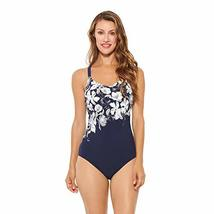 Christina Women's Cup Sized Scoop Neck Racerback One Piece Swimsuit, Med... - $56.33