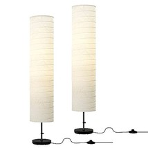 Ikea Floor Lamp, 46-inch, White (White, 2) - $44.54