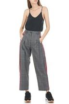 Tara Jarmon - Women's High-Waisted Wide Leg Linen Pants - Gris Chine Clair - $257.24 - $288.00