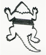 Horned Frog Toad Lizard Tropical Amphibian Animal Cookie Cutter USA PR3355 - $2.99