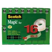 Scotch Brand Magic Tape, Writeable, Matte Finish, Photo-Safe, Engineered... - $32.09